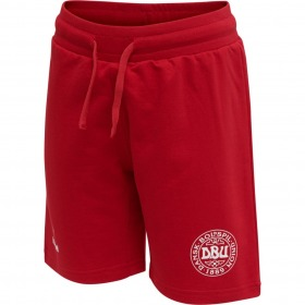 Hummel EM Fodbold shorts - DBU - Fryd - Tango Red - Rød
