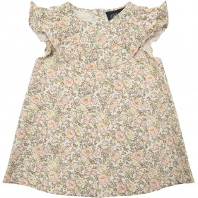 Petit By Sofie Schnoor baby kjole - Norma - off-white m. blomsterprint