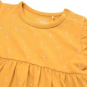Petit By Sofie Schnoor baby kjole - Synne - Mustard - gul