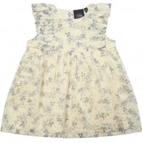 Petit By Sofie Schnoor kjole - Marya - white flower - hvid med blomsterprint
