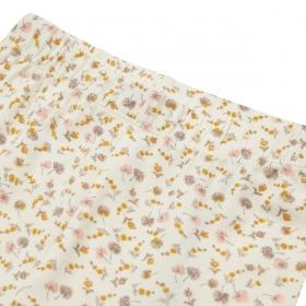Petit By Sofie Schnoor leggings - Lily - offwhite med blomsterprint