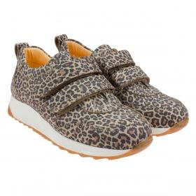 Angulus Sneaker Leopard med Velcro