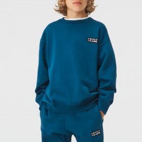 Molo Sweatshirt Mir - Sea blue - Blå