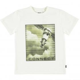 Molo t-shirt - Rame - White Star - hvid 1W21A217