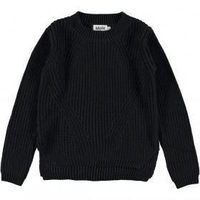 Molo trøje - strik - Gillis - sort