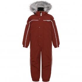 Molo Flyverdragt, Polaris Fur, Rosewood Rød