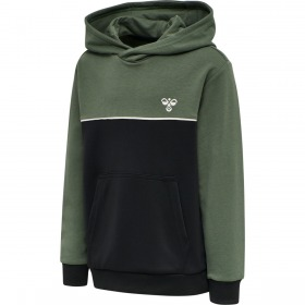 Hummel hoodie - Captain - Thyme - Grøn