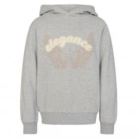 Sofie Schnoor Girls sweatshirt - simona - grey melange - grå